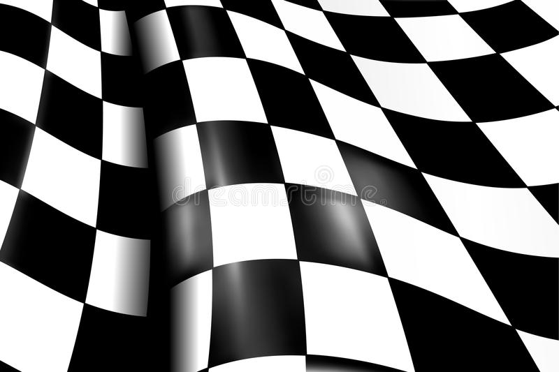 Sports Checkered Background stock illustration