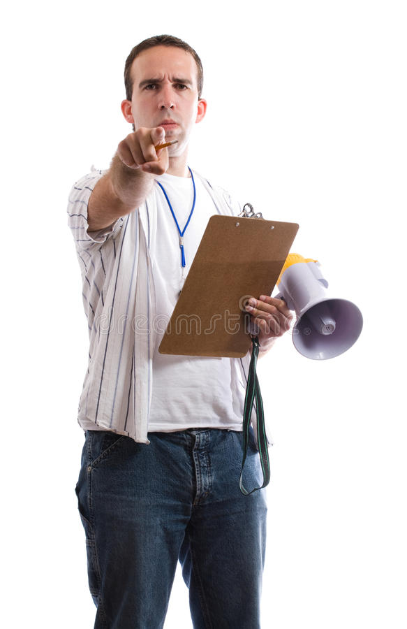 Download Sports Coach stock photo. Image of handsome, encouragement - 10948160