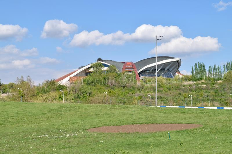 Sports and Concerts Complex, Yerevan, Armenia royalty free stock photography