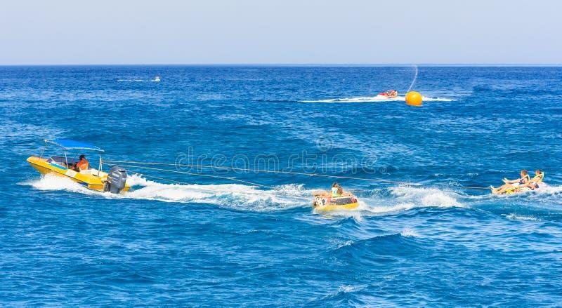 Sports d'eau La Grèce photo stock