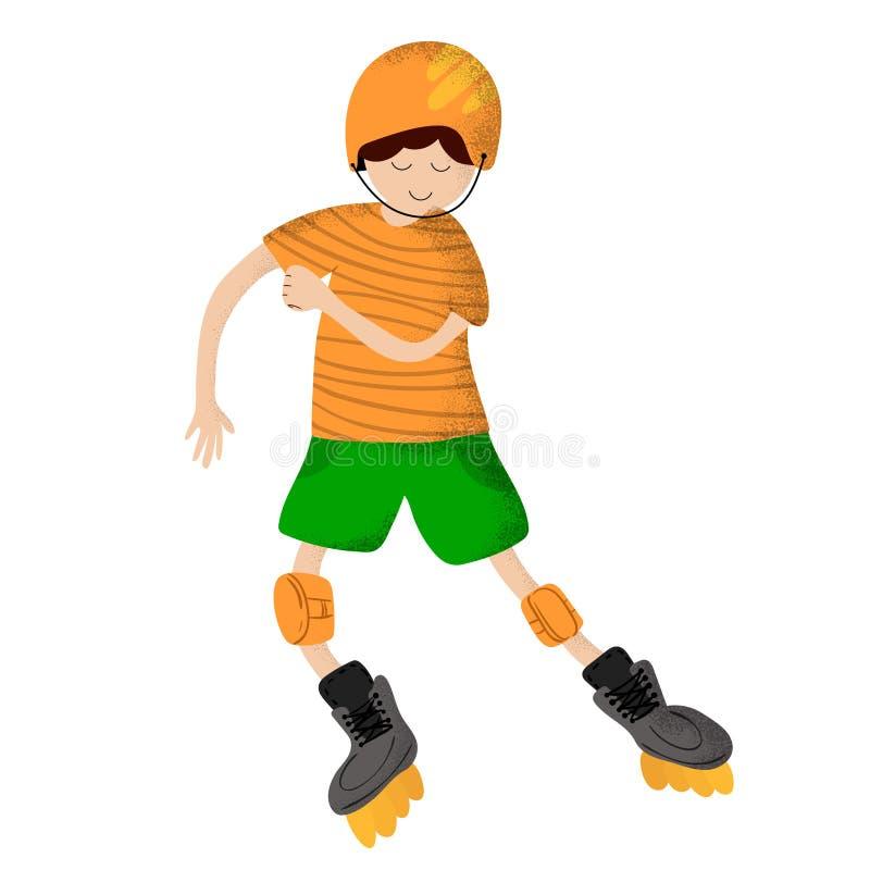 Sports d'enfants de vecteur illustration de vecteur