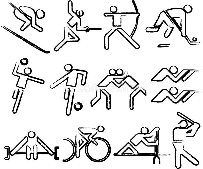 Sports d'Olimpic illustration stock