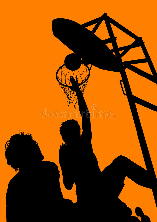 sports de basket-ball illustration stock