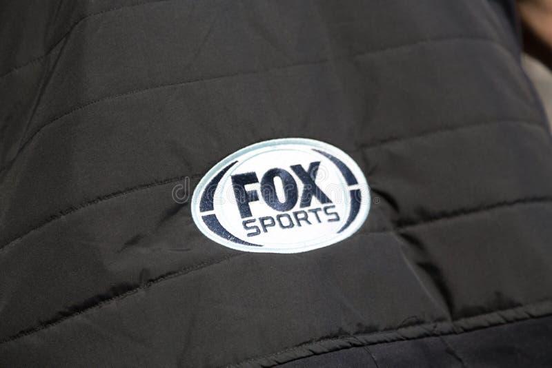 Sports de Fox, sponsor au championnat de la formule E images stock