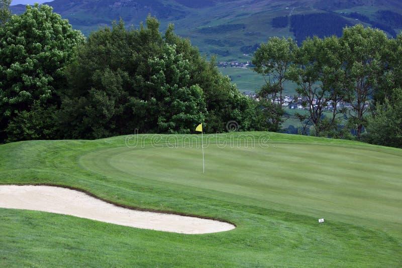 Sports de golf photos libres de droits