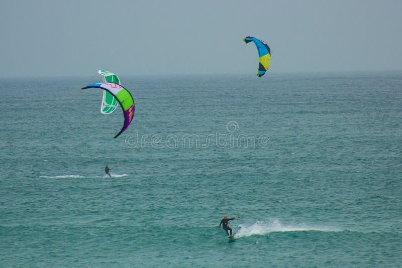 Sports de Nautic : kitesurf photos stock