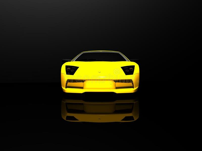 sports de véhicule illustration de vecteur