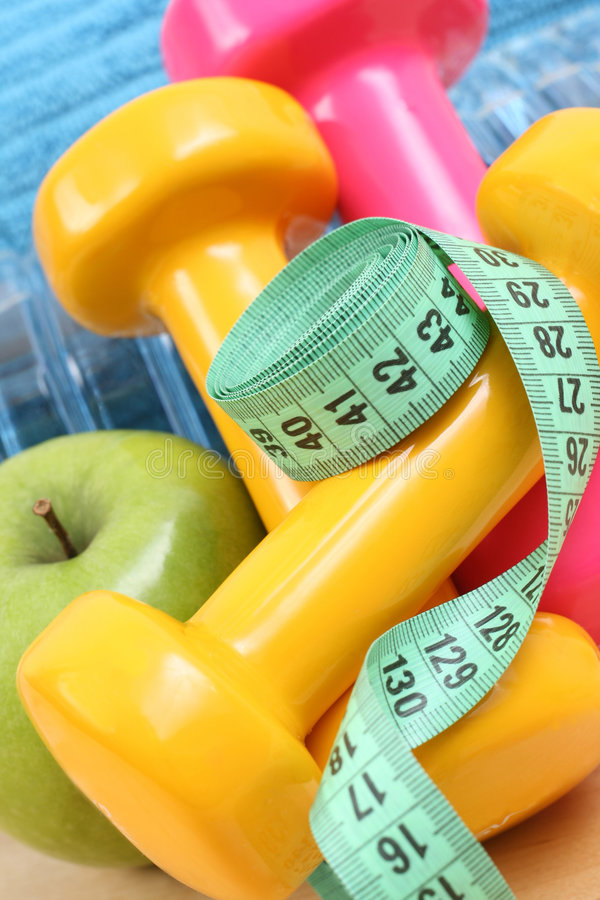 Download Sports equipment stock image. Image of tape, slimming - 4375963