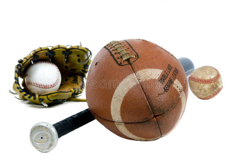 Sports Equipment Royalty Free Stock Image