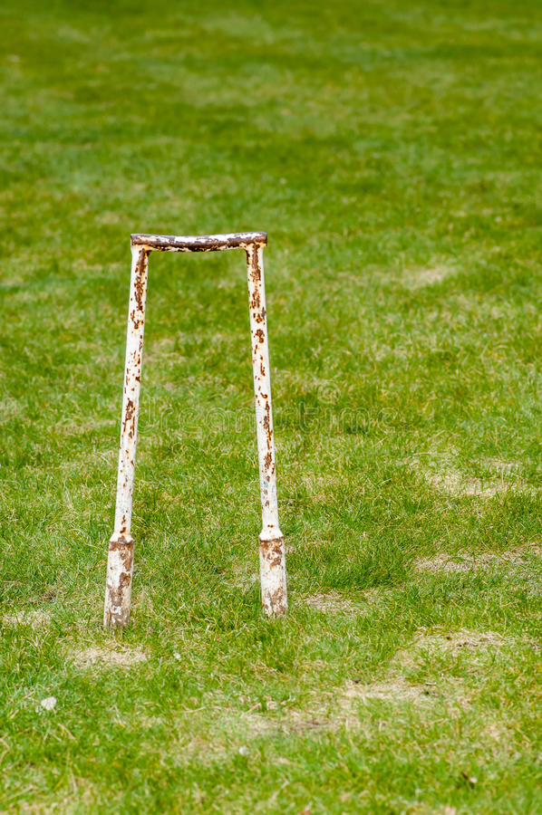 Sports equipment - croquet gear royalty free stock photography