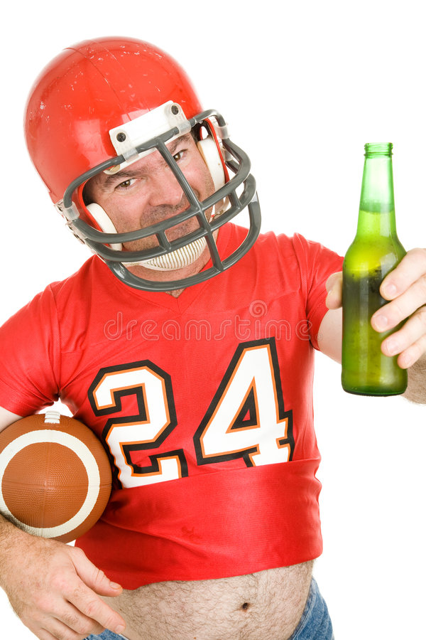 Download Sports Fan - Have A Cold One Stock Photo - Image: 6359036