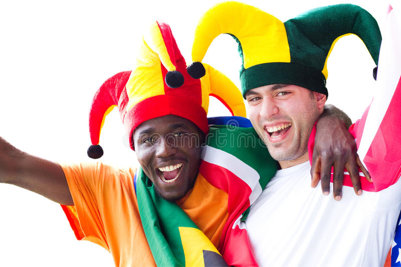 Download Sports fans stock photo. Image of cheerful, black, excited - 13764200
