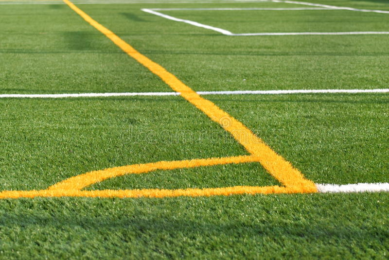 Sports Field Stock Image