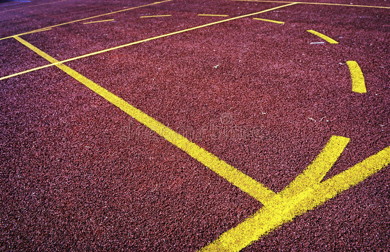 Sports Field Stock Image. Image Of Sport, Empty, Closeup