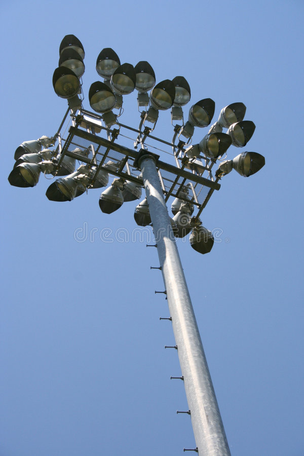 Sports Field Lights stock images