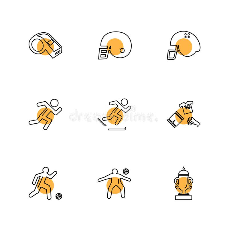 Sports , games , atheletes , balls , fitness , eps icons set vector. Sports , games , atheletes , balls , fitness , football , fifa , russia , cricket , ball vector illustration