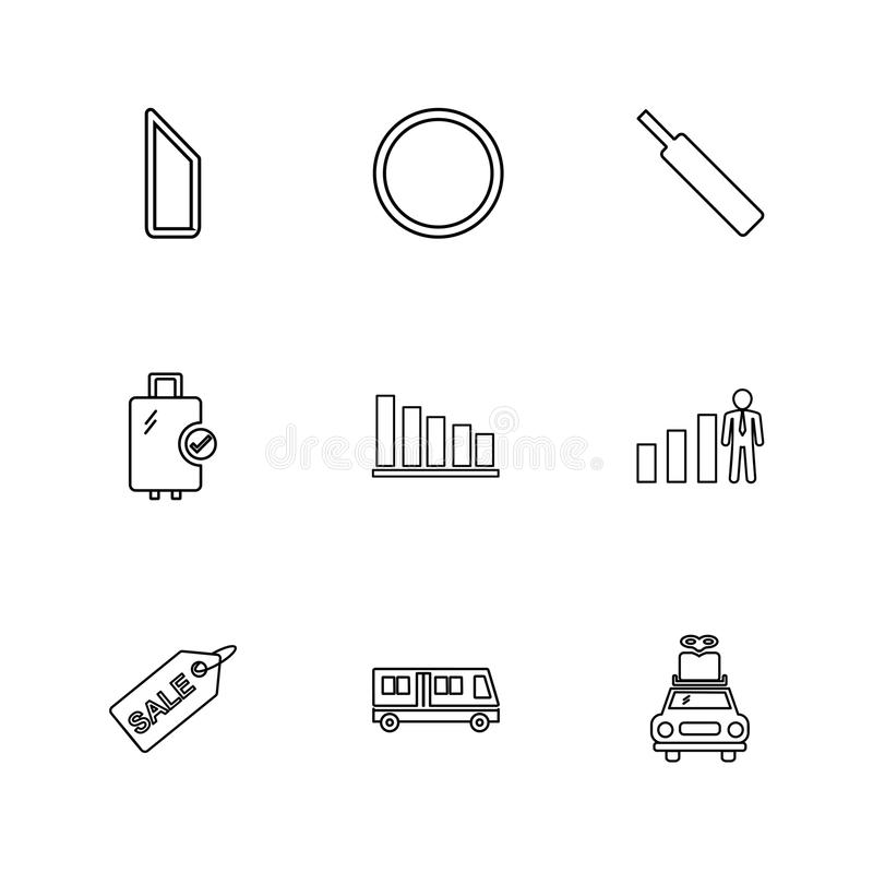 Sports , games , summer , beach , eps icons set vector. Sports , games , summer , beach , cart , drinks ,food , graph , cloths , chart , icon, vector, design royalty free illustration