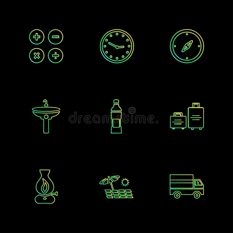 Sports , games , summer , eps icons set vector. Sports , games , summer , badge , building , flag , time, travelling, drinks, , tennis , glass , food , icon vector illustration