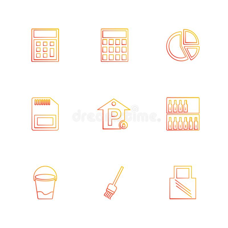 Sports , games , summer , eps icons set vector. Sports , games , summer , badge , building , flag , time, travelling, drinks, , tennis , glass , food , icon royalty free illustration