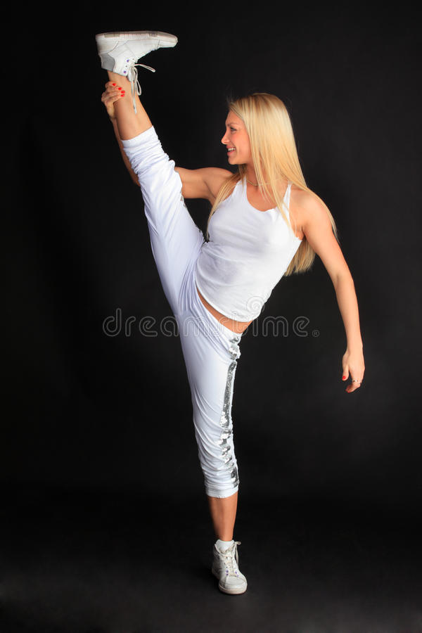 Download Sports girl stock image. Image of arms, copy, attractive - 22593193