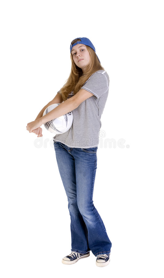 Download Sports girl stock photo. Image of adolescents, learning - 3138082