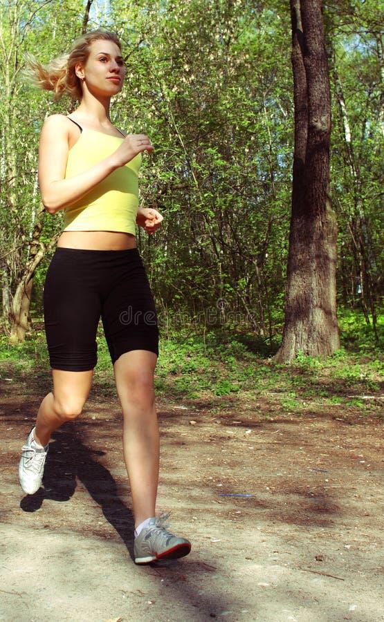 Sports girl stock photo