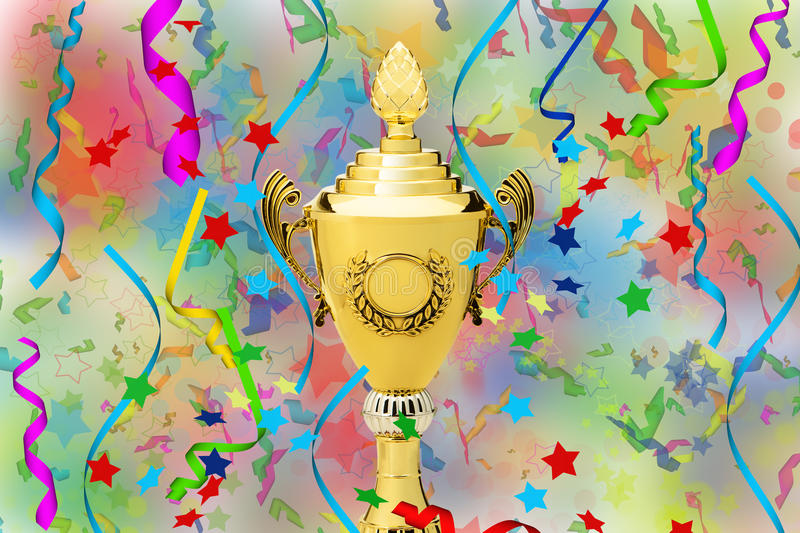 Download Sports Gold Cup Royalty Free Stock Photography - Image: 25307087