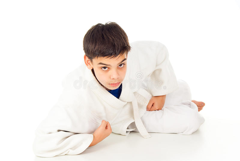 Download Sports guy fight stock photo. Image of child, isolated - 29183050