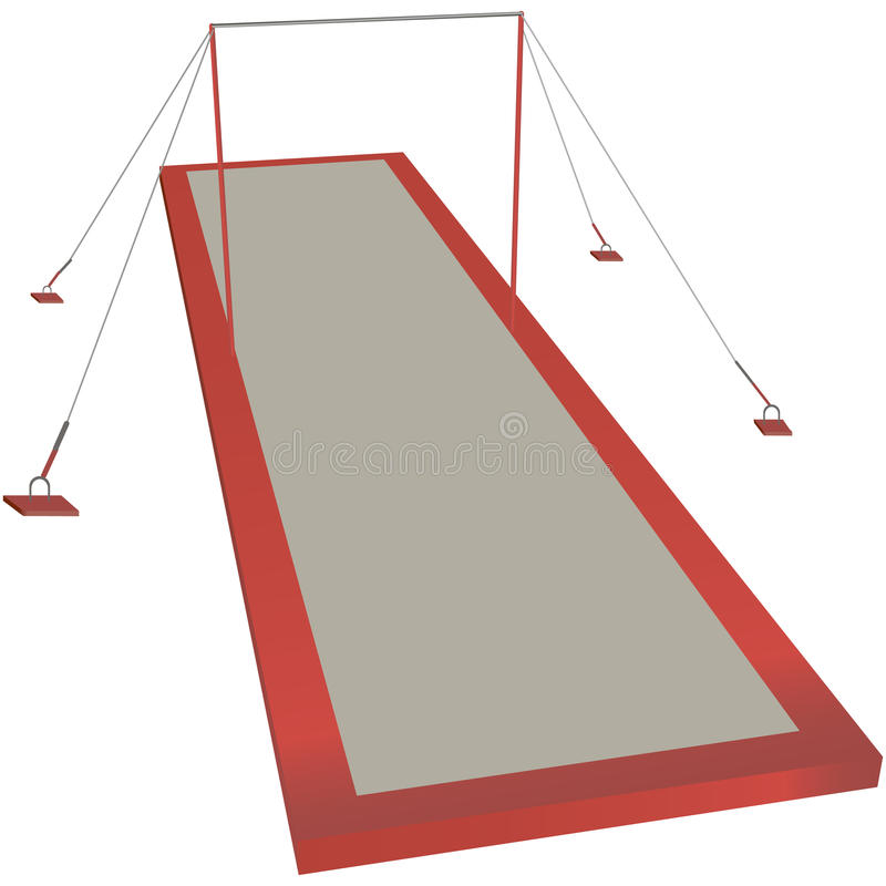 Download Sports horizontal bar stock vector. Illustration of isolation - 35396846