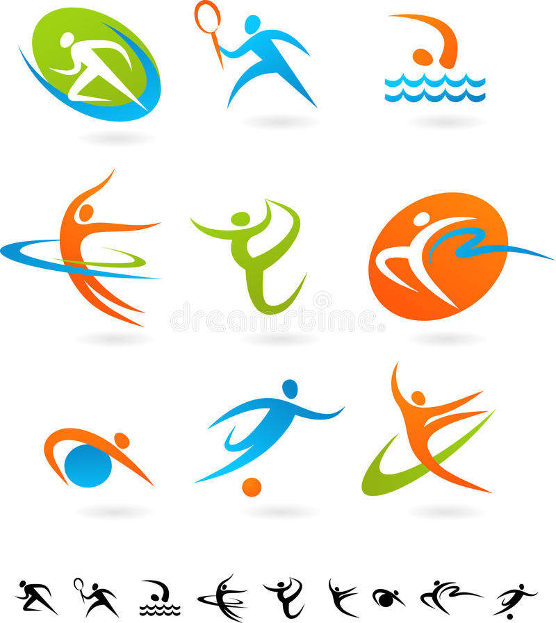 Free Sports Icon Collection - 5 Stock Photography - 13416772
