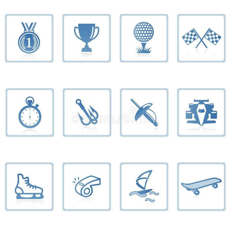 Sports icon II royalty free illustration