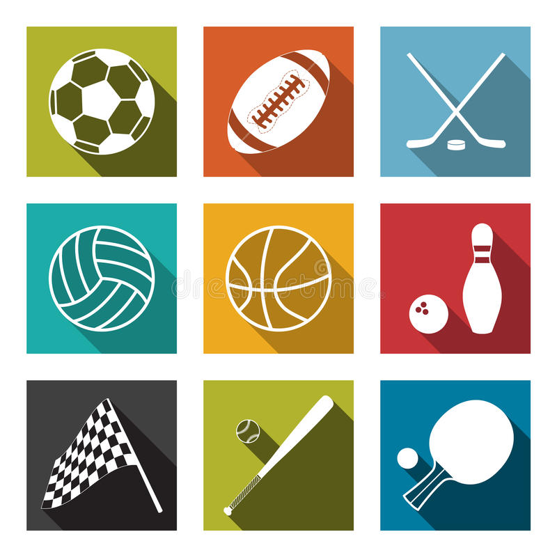 Download Sports Icons Stock Images - Image: 34035084