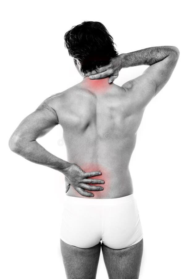 Sports injury pain royalty free stock image