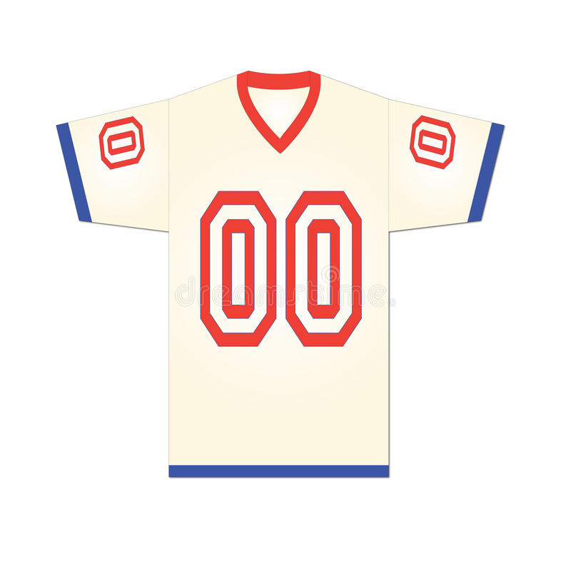 Sports Jersey illustration libre de droits