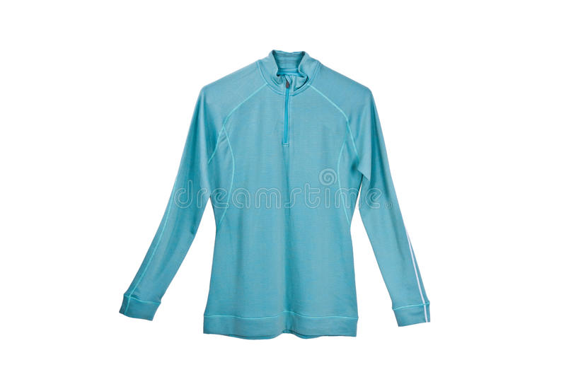 Sports jumper. On a white background stock image