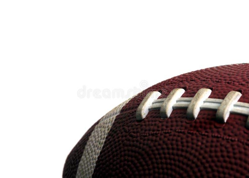 Sports - le football d'isolement photographie stock libre de droits