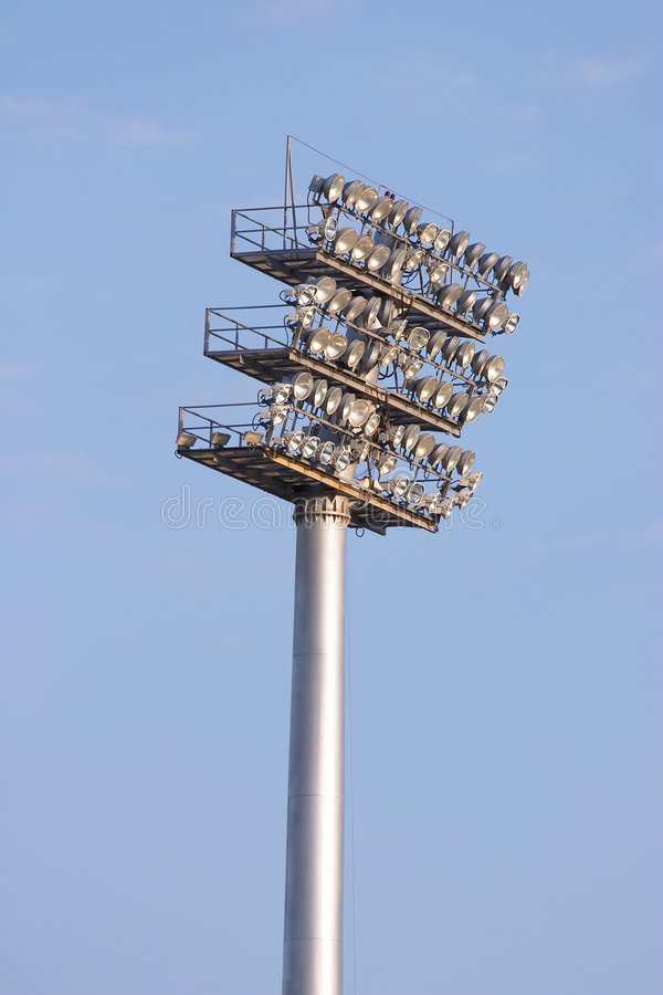 Download Sports Lights Royalty Free Stock Photos - Image: 64478