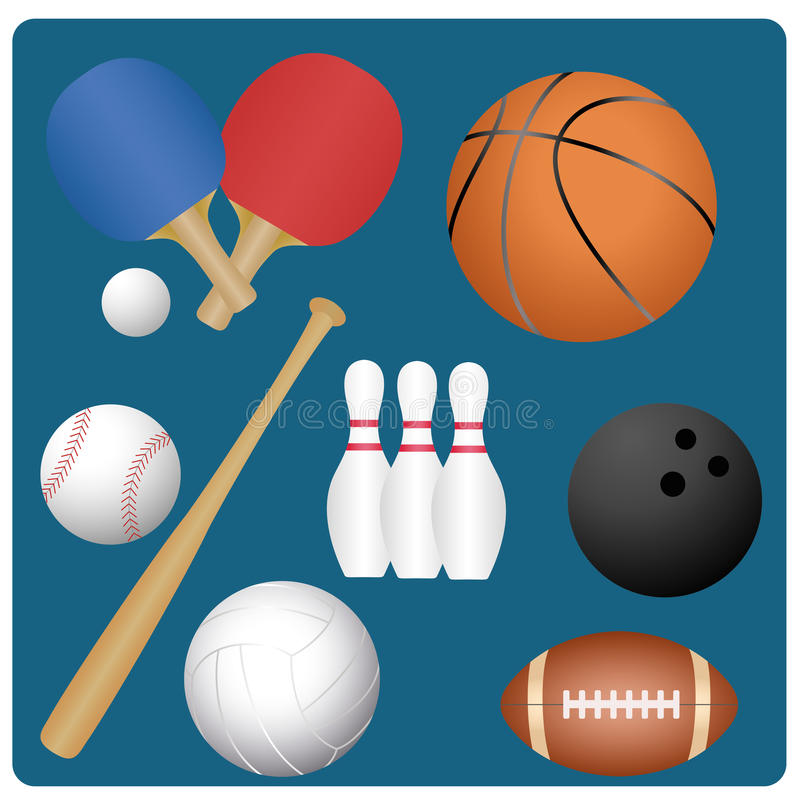 Download Sports stock vector. Illustration of brown, game, circle - 36078657