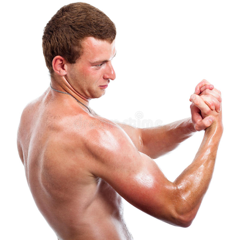 Download Sports man biceps stock photo. Image of sport, sports - 26665528