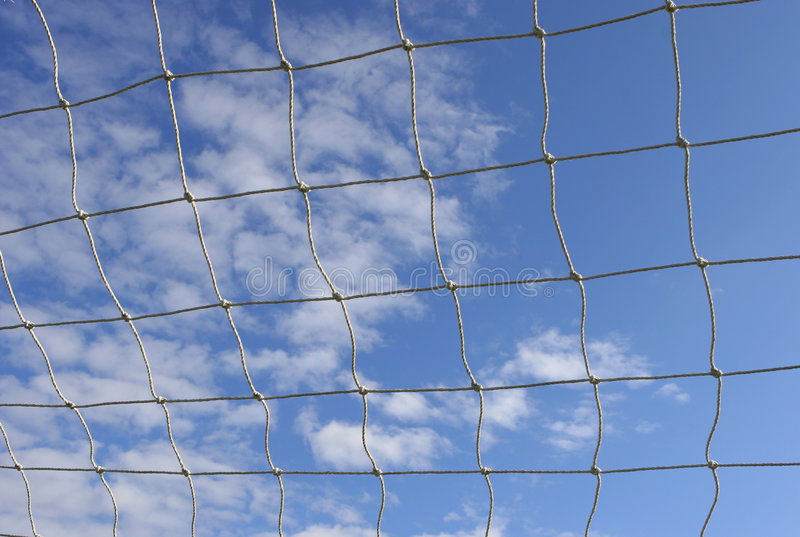 Download Sports Net stock image. Image of knots, team, clouds, keeper - 253155