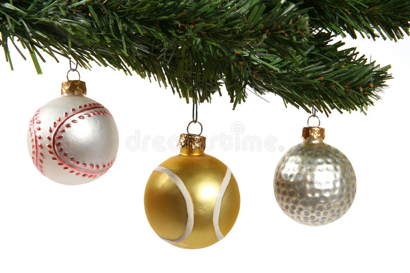 Sports Ornaments stock photography