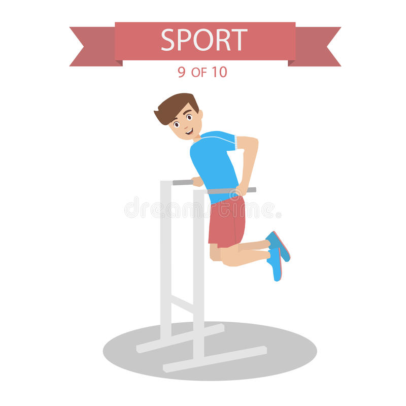 Sports People Vector stock photography