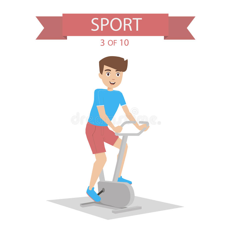 Sports People Vector stock images