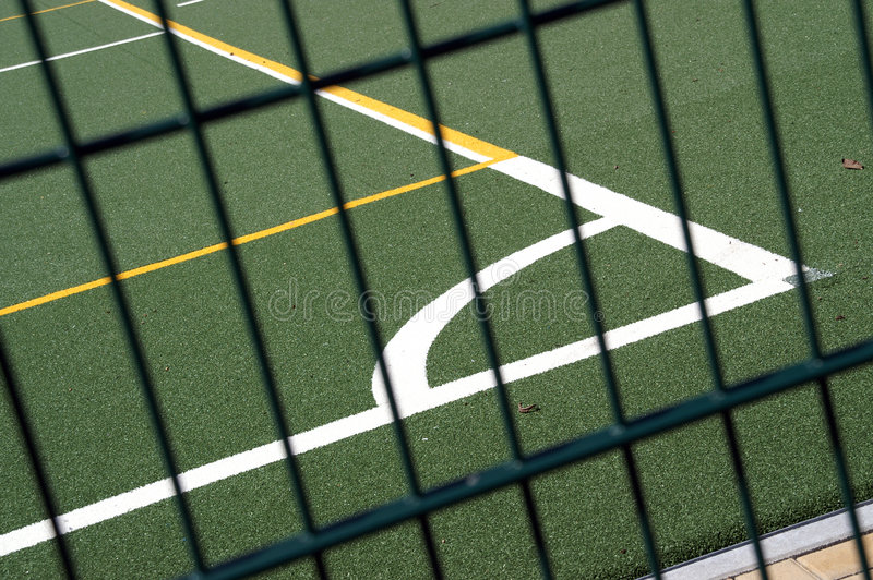 Download Sports pitch stock image. Image of marked, circle, soccer - 1097181