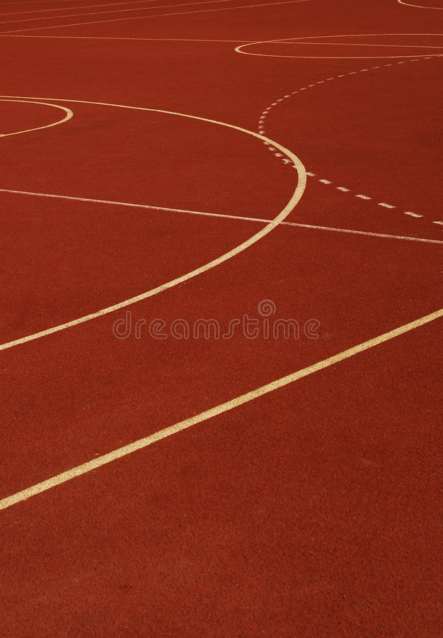 Sports Pitch Royalty Free Stock Photography