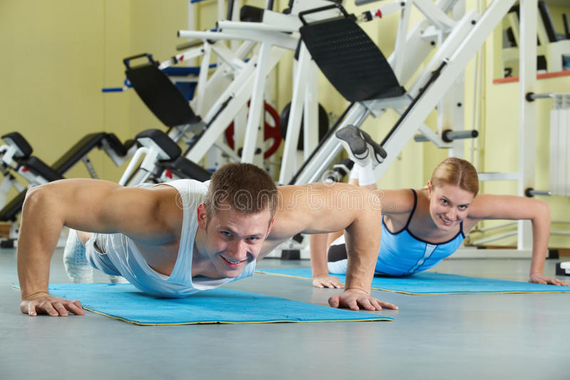 Sports practice stock images