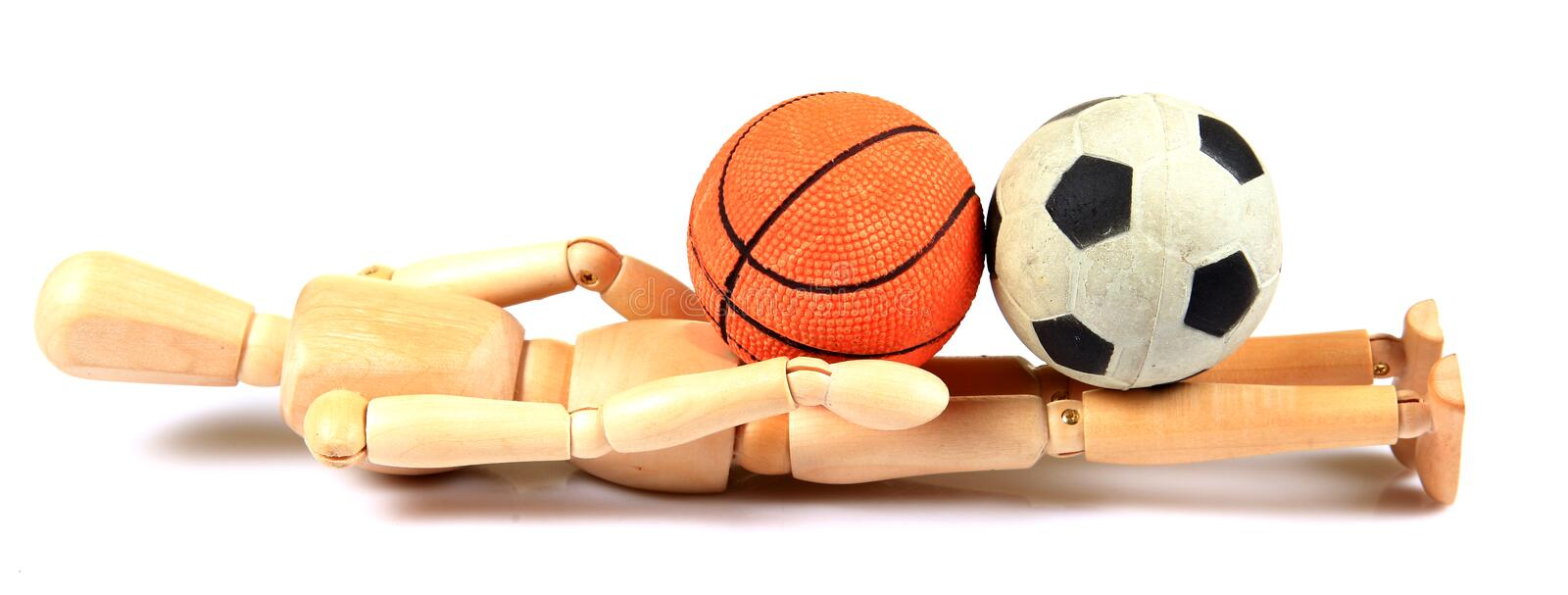 Sports pressure stock photography