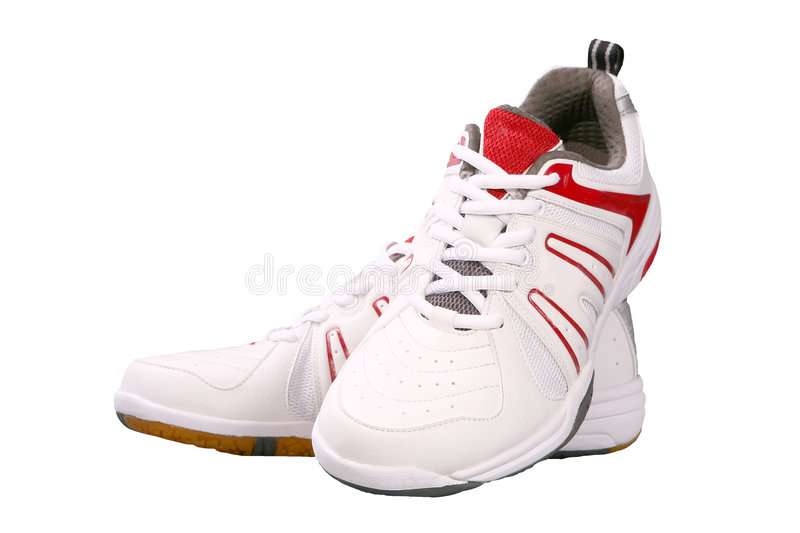 Download Sports shoes stock photo. Image of aerobics, laced, padded - 7568434
