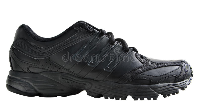 Sports shoes isolated. On white background royalty free stock photo