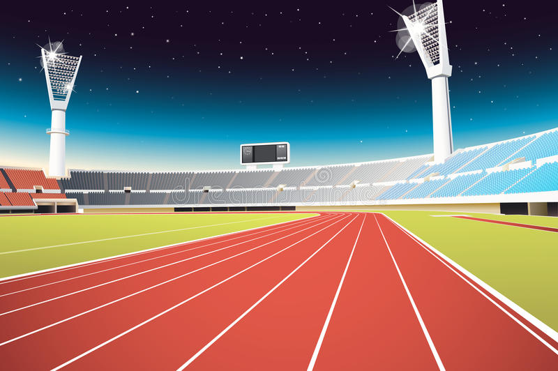 Sports stadium vector illustration